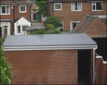 Flat roof repairs Sutton